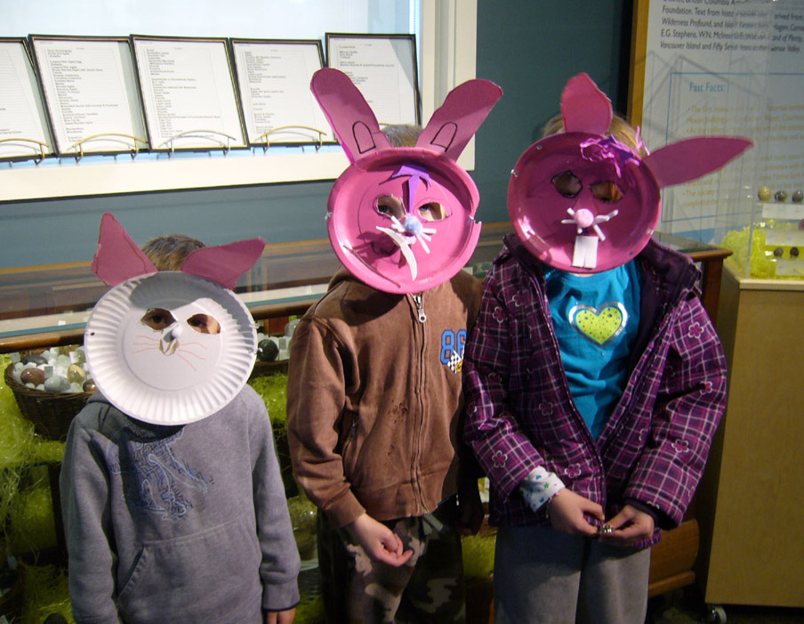 Bunny Masks Easter 2013