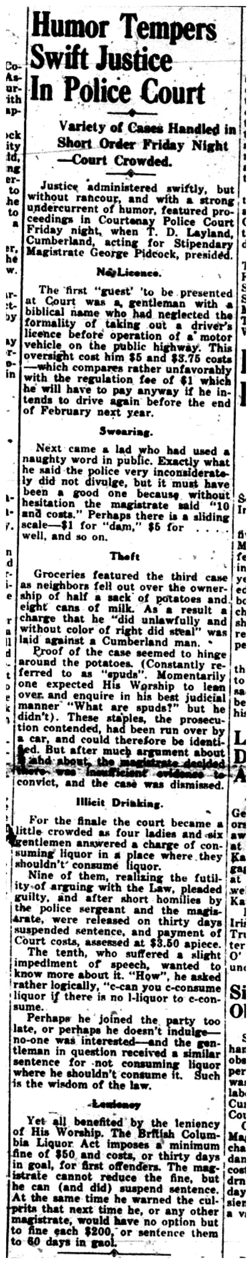 Humor in Court Aug 12, 1937