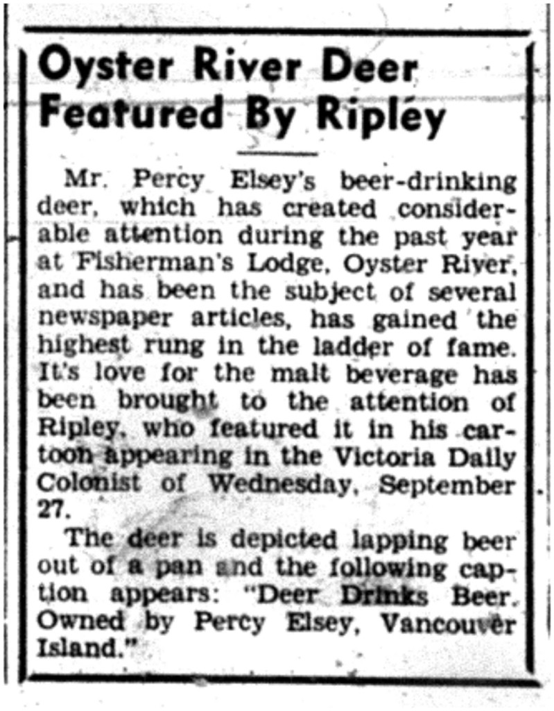 Ripley deer Sept 28, 1939sm