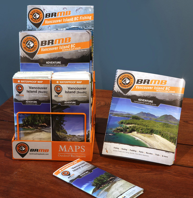 vancouver island bc victoria gulf islands backroad mapbooks