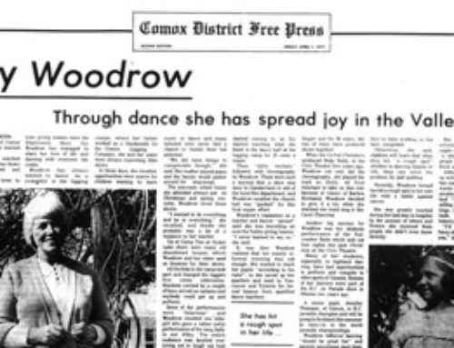 "It's All There in Black and White: A Profile of Joy ""Babe"" Woodrow"