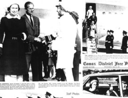 It's All There in Black and White: The 1971 Royal Visit to the Comox Valley