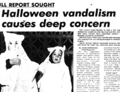 It's All There in Black and White: Comox Valley Halloween Vandalism Causes Deep Concern